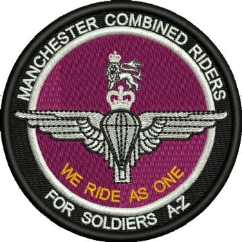 Manchester Combined Riders  Embroidered Badge